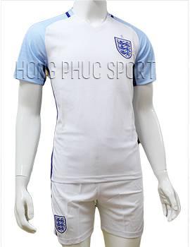 Mẫu áo tuyển Anh Euro 2016 2017 sân nhà màu trắng mẫu chính