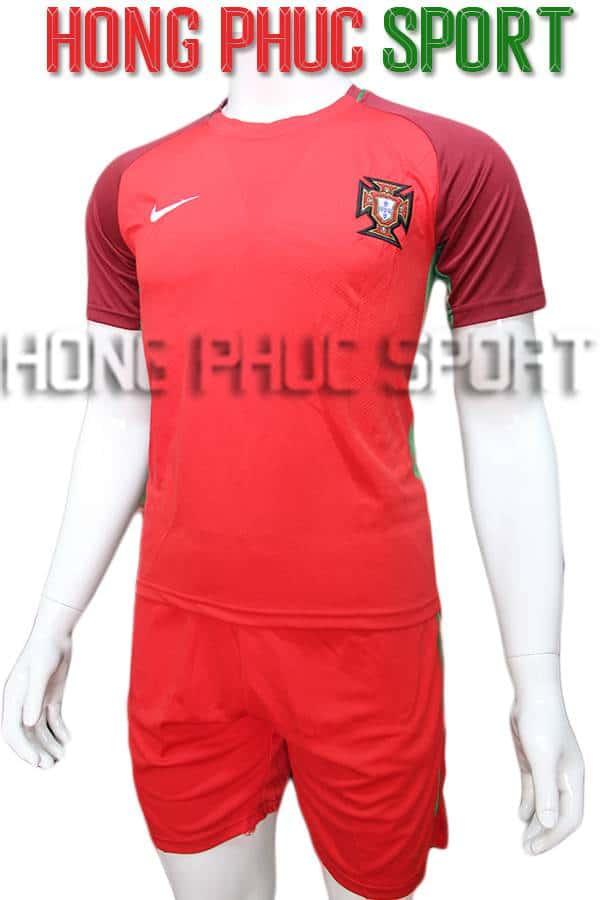 Bộ quần áo tuyển Bồ Đào Nha Euro 2016 2017 sân nhà
