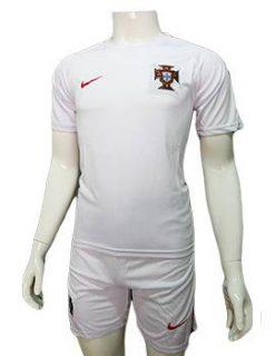 mẫu áo tuyển Bồ Đào Nha Euro 2016 2017 màu trắng