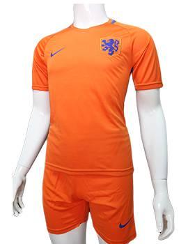 Mẫu áo tuyển Hà Lan Euro 2016 2017 sân nhà màu cam