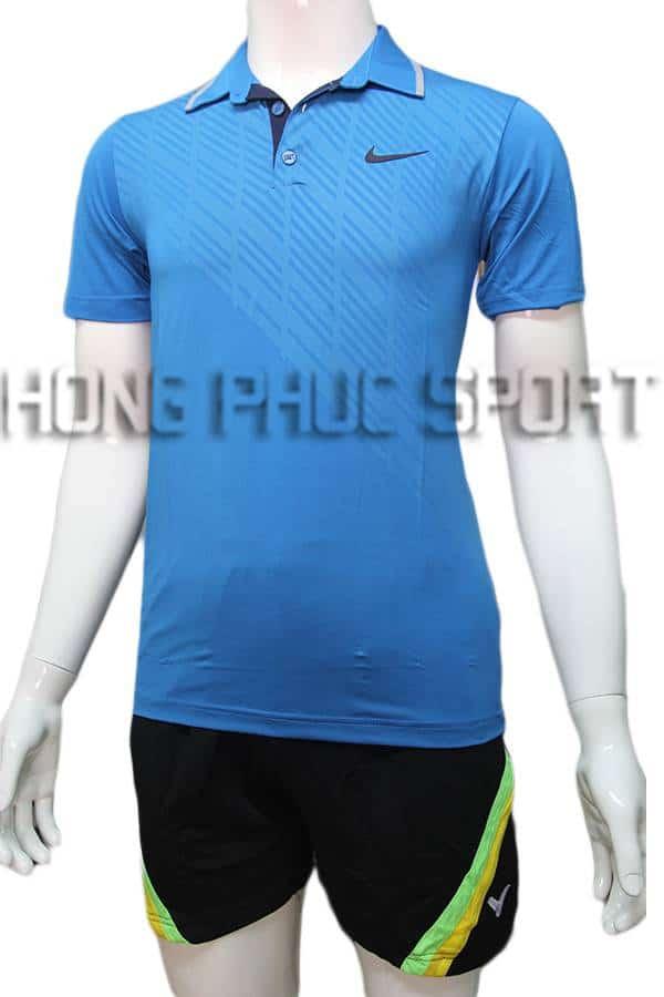 Quần áo cầu lông nam Nike NB06 màu xanh