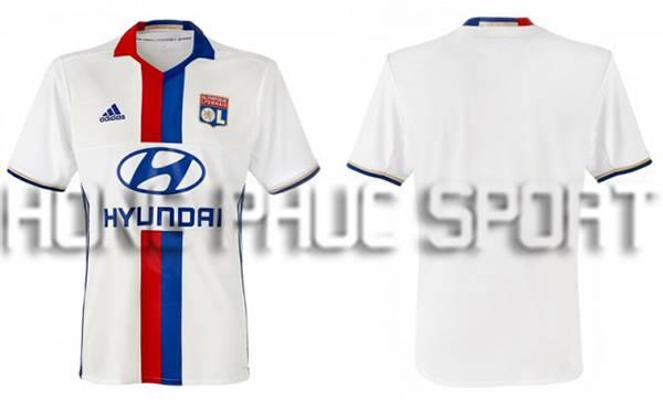 áo đấu Lyon 20162017 sân nhà