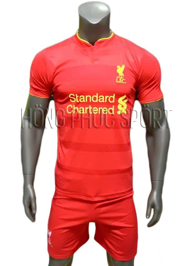 Bộ quần áo đấu Liverpool 2016 2017 sân nhà mầu đỏ