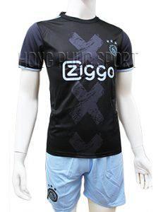 Mẫu áo đấu Ajax Amsterdam 2016 2017 sân khách tím than