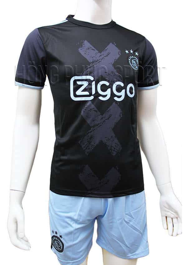 Bộ quần áo đấu Ajax Amsterdam 2016 2017 sân khách tím than