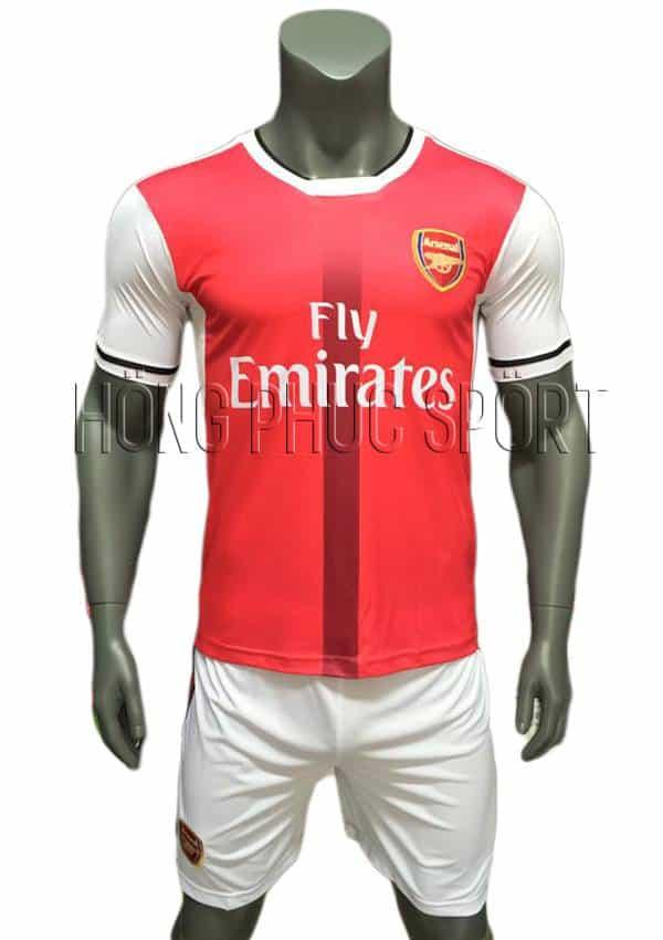 Bộ quần áo Arsenal 2016 2017 sân nhà mầu đỏ