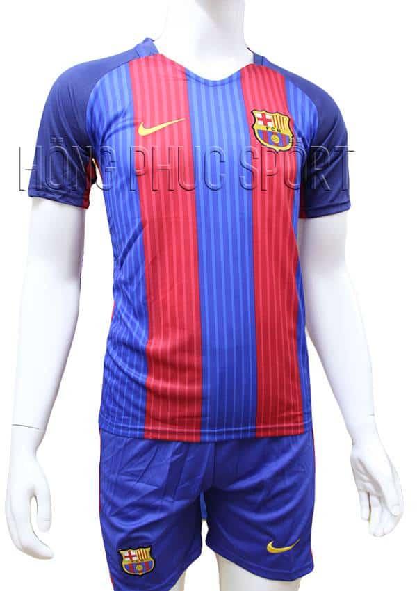 Bộ quần áo đấu Barcelona 2016 2017 sân nhà