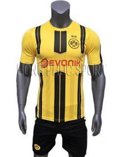 Mẫu áo Dortmund 2016 2017 sân nhà vàng sọc đen
