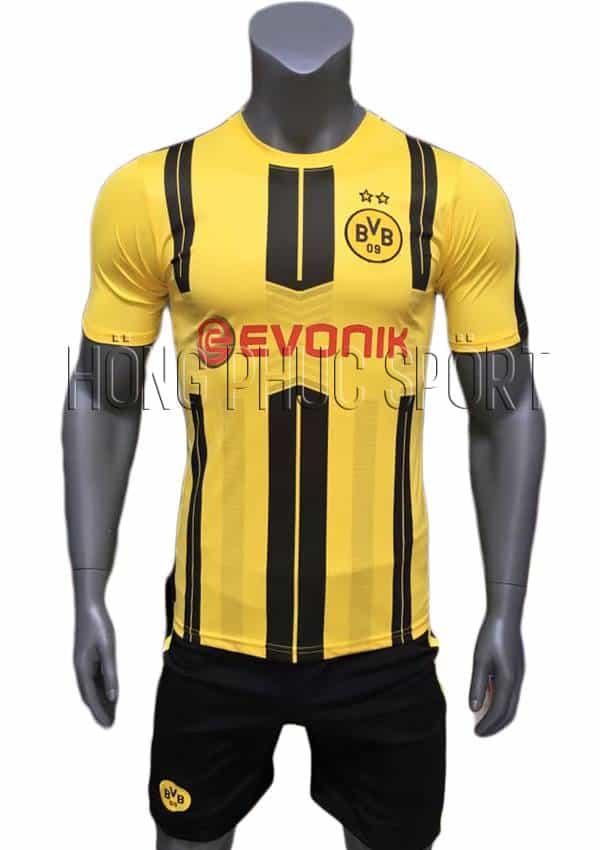 Bộ quần áo Dortmund 2016 2017 sân nhà vàng sọc đen