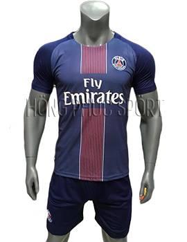 Mẫu áo đấu PSG 2016 2017 sân nhà mầu tím than