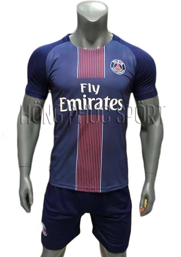 Bộ quần áo đấu PSG 2016 2017 sân nhà mầu tím than