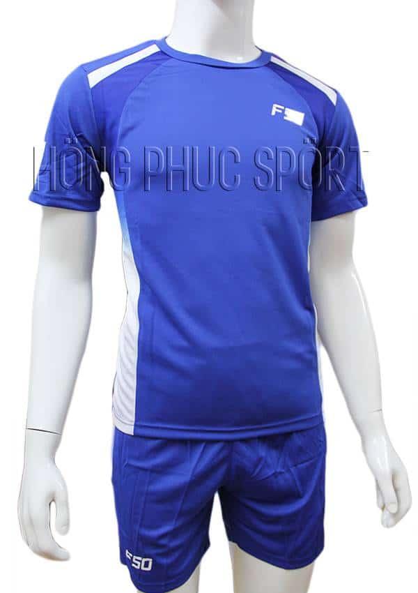 Bộ quần áo F50 xanh bích không logo 2016 2017