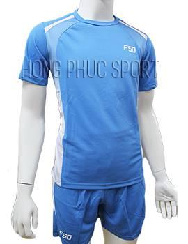 Mẫu áo F50 xanh nước biển không logo 2016 2017