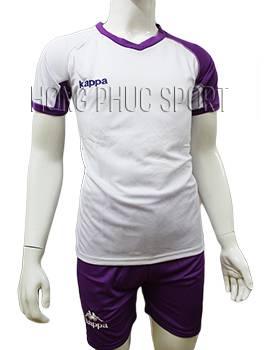 Mẫu áo Kappa Vip tím không logo 2016 2017