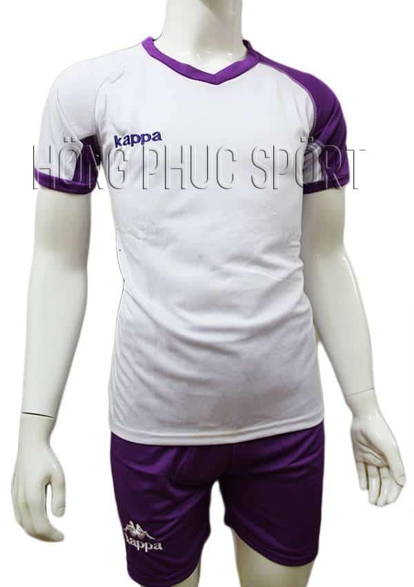 Bộ quần áo Kappa Vip tím không logo 2016 2017