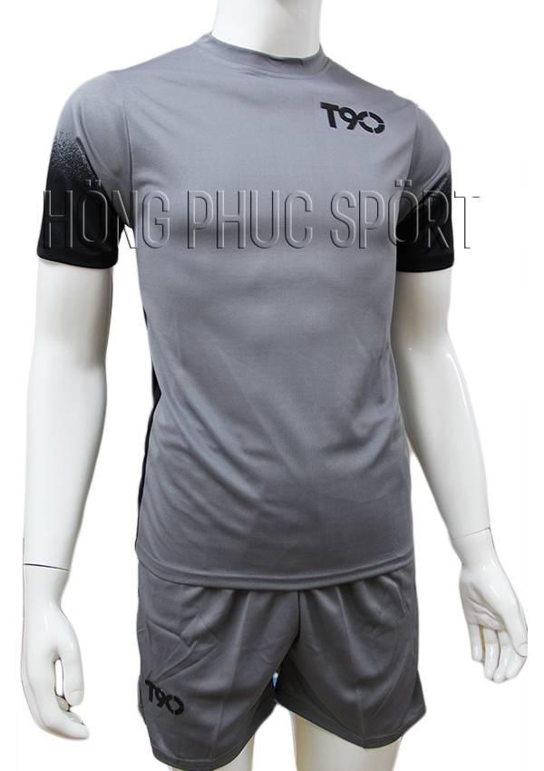 Bộ quần áo T90 mầu xám không logo 2016 2017