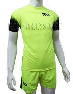 Mẫu áo T90 xanh chuối không logo 2016 2017