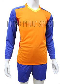 Mẫu quần áo thủ môn 2016 2017 cam phối xanh bích