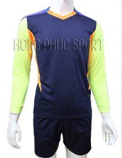 Mẫu quần áo thủ môn 2016 2017 tím than phối xanh chuối