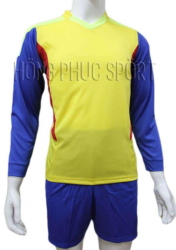 Bộ quần áo thủ môn 2016 2017 vàng phối xanh