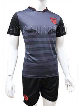 Mẫu áo tuyển Albania Euro 2016 2017 sân khách màu xám đen