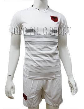 Mẫu áo tuyển Albania Euro 2016 2017 sân nhà màu trắng