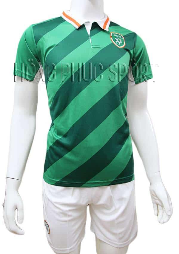 Bộ quần áo tuyển Ireland Euro 2016 2017 xanh lá cây sân nhà