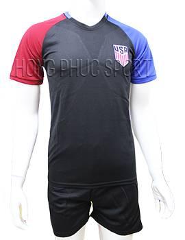 Mẫu áo tuyển Mỹ Copa America 2016 2017 sân khách màu đen