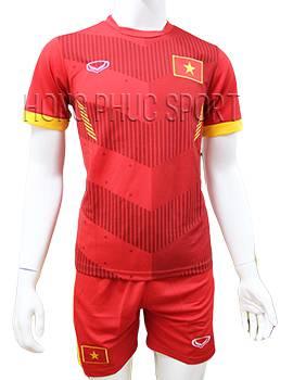 Mẫu áo tuyển Việt Nam AFF Cup 2016 2017 sân nhà mầu đỏ