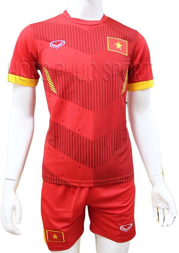 Bộ quần áo tuyển Việt Nam AFF Cup 2016 2017 sân nhà mầu đỏ