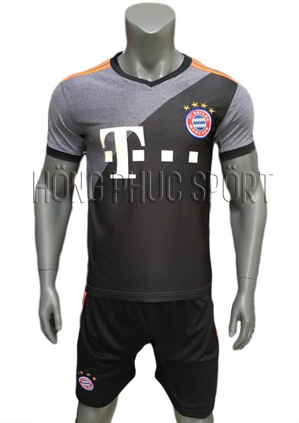 Bộ quần áo Bayern Munich 2016 2017 sân khách mầu xám