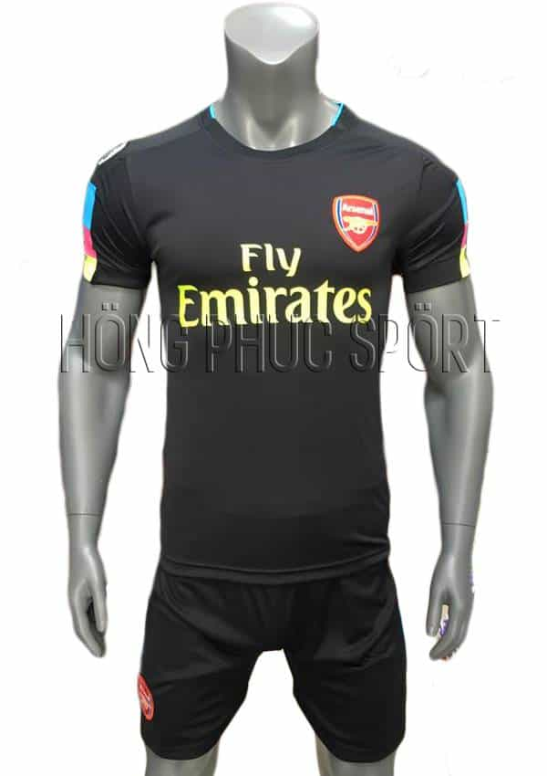 Bộ quần áo thủ môn Arsenal 2016 2017 tím than