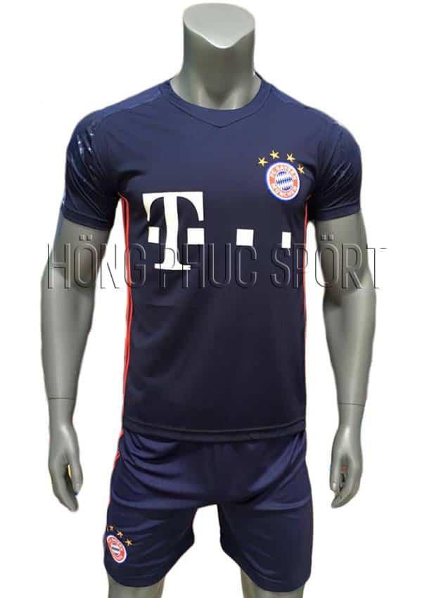 Bộ quần áo thủ môn Bayern Munich 2016 2017 tím than
