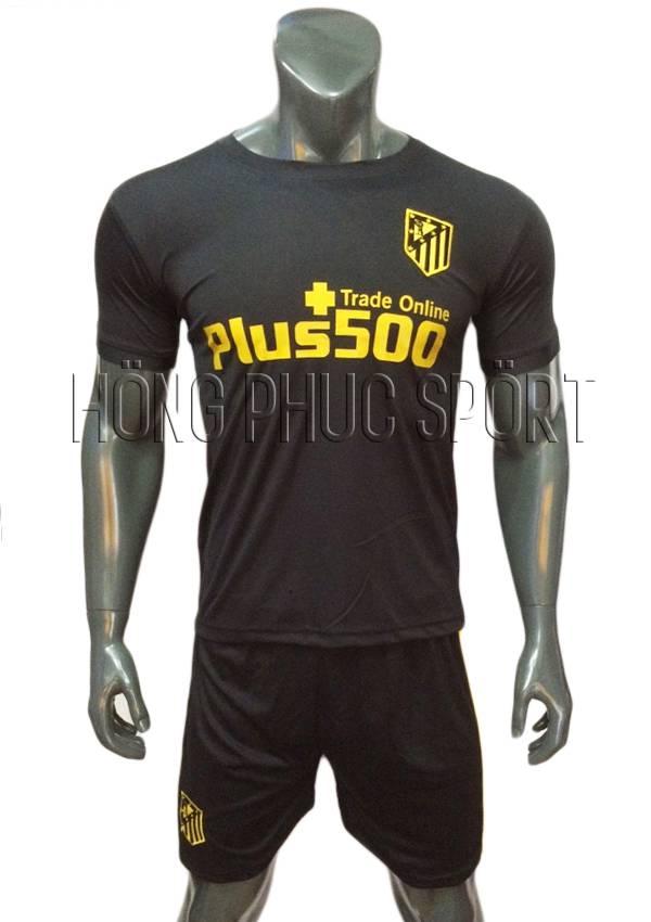 Bộ quần áo Atletico Madrid 2016 2017 sân khách tím than