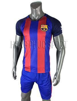 mẫu áo đấu Barcelona 2016 2017 sân nhà