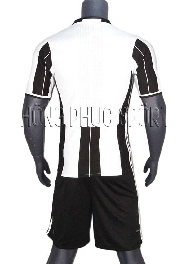 Bộ quần áo Juventus 2016 2017 sân nhà Thái Lan Super Fake - Mặt sau