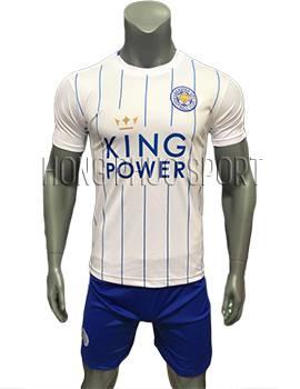 Mẫu áo Leicester City 2016 2017 sân khách mầu trắng mẫu thứ 3