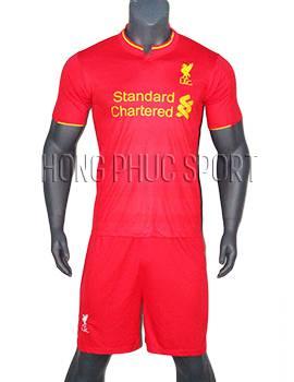 Mẫu áo Liverpool 2016 2017 sân nhà mầu đỏ Thái Lan Super Fake
