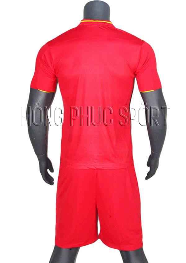 Bộ quần áo Liverpool 2016 2017 sân nhà mầu đỏ Thái Lan Super Fake - Mặt sau