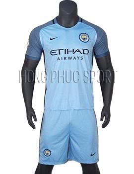 Mẫu áo Man City 2016 2017 sân nhà hàng thái lan super fake