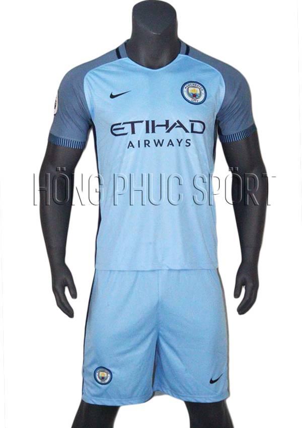 Bộ quần áo Man City 2016 2017 sân nhà hàng thái lan super fake