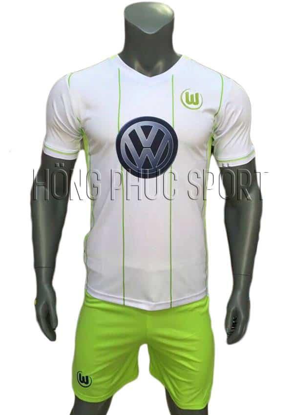 Bộ quần áo Wolfsburg 2016 2017 trắng sân khách