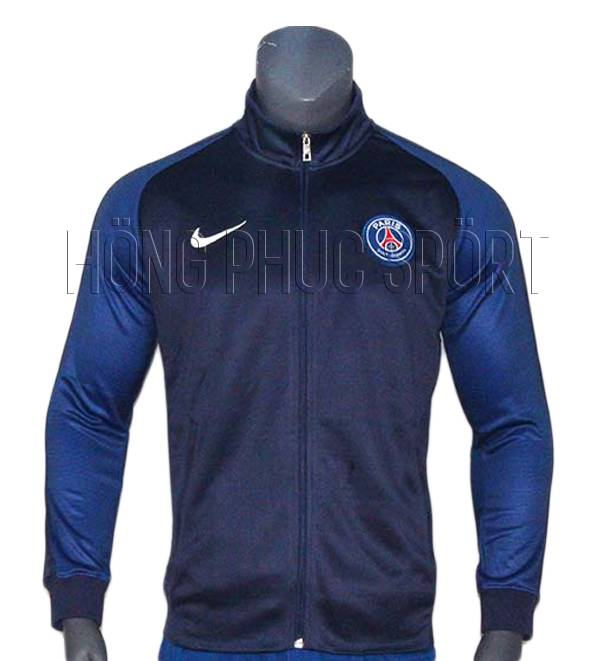 Mẫu áo khoác clb PSG 2016-2017 tím than