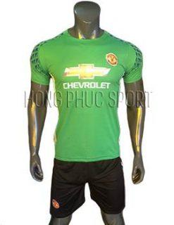 Bộ quần áo thủ môn MU 2016 2017 xanh lá cây