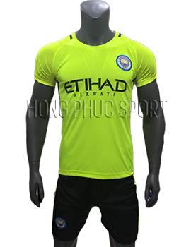 Mẫu áo thủ môn Man City 2016 2017 xanh chuối