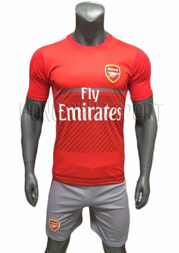 Bộ quần áo training Arsenal 2016 2017 màu đỏ