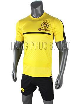 Áo training Dortmund 2016 2017 màu vàng