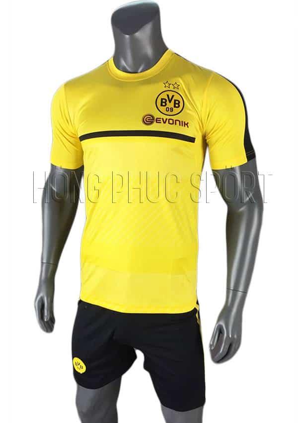 Quần áo training Dortmund 2016 2017 màu vàng