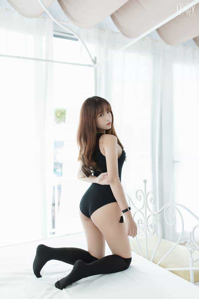 Hot girl Nga Đoàn chụp ảnh nóng