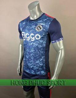 Áo đấu Ajax sân khách 2017 2018 xanh tím than
